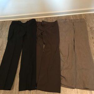 Bundle dress pants size 8